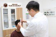 Cận cảnh một ca cấy tóc tự thân tại Phòng khám cấy ghép tóc y học quốc tế